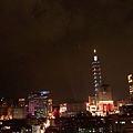 10pm near Taipei 101