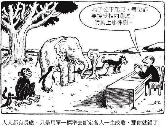 不爬樹的大象