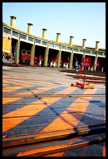 扇型車站:<彰化景點>唯一火車的旅舘 「扇型車站」