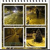 1ere neige a Fontainebleau 1