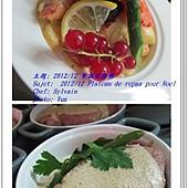 plateau de repas pour Noel 2012  2