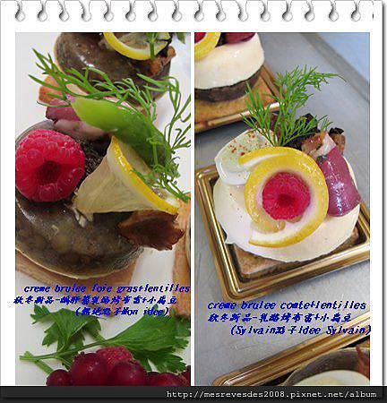 creme brulee comte et foie gras
