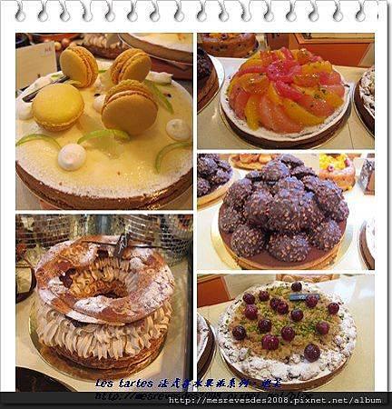 les tartes