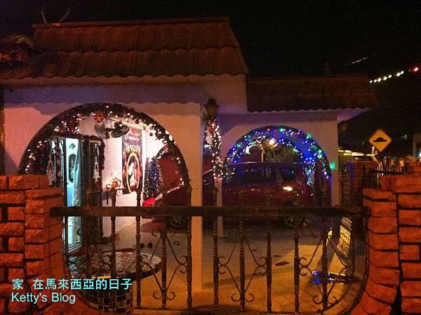 馬六甲的葡萄牙村與聖誕裝飾