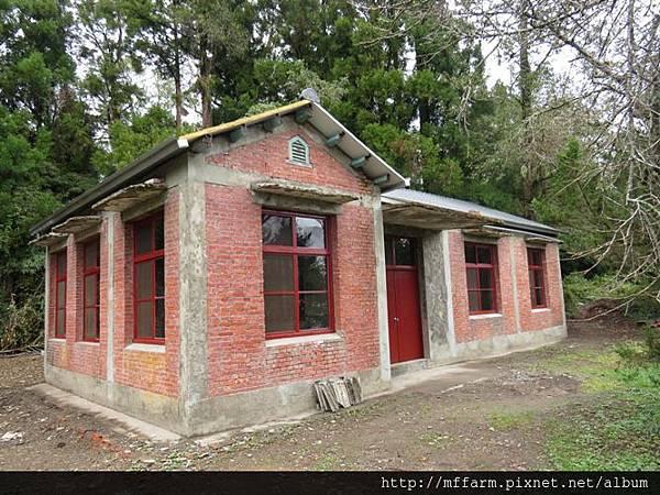 1.整建後的紅房子外觀
