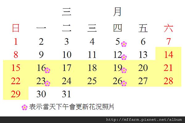 花況更新時間-20150206