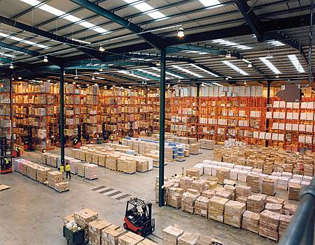 倉儲系統依靠資訊科技的發展變得更有效率