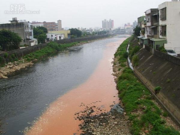 台灣河川廢水汙染嚴重,影響到民眾用水安全