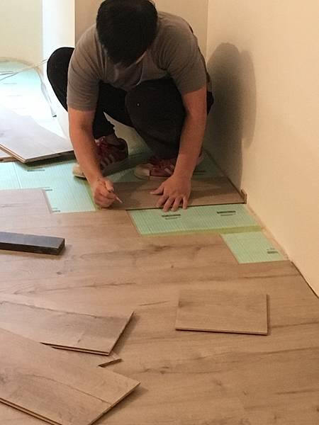 木地板 三商美福 超耐磨木地板 Megafloor Egger 室內設計 室內裝潢 蘇格蘭丹地淺橡木 環保認證 德國原裝
