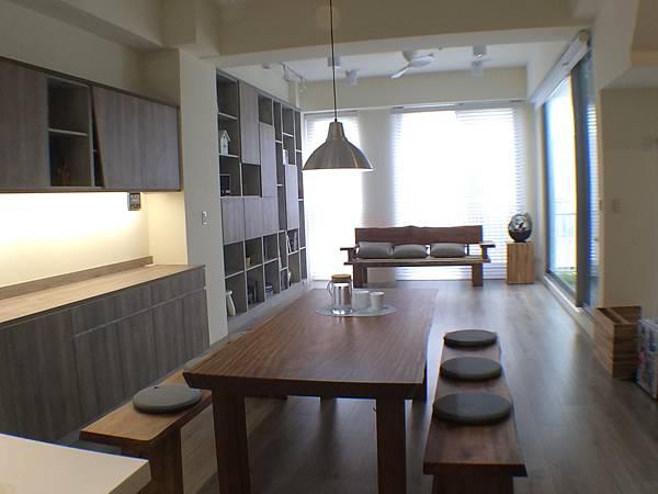 三商美福 室內設計 裝修 空間規劃 低甲醛 環保 系統櫃 系統家具 木地板 超耐磨木地板 EGGER MEGAFLOOR 無印良品 無印風 無印良品風格 透天獨棟