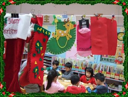 聖誕襪及聖誕卡