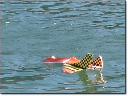 遙控飛機落水了2