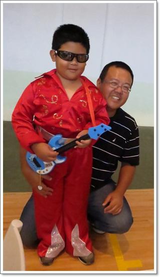 安安+爸爸