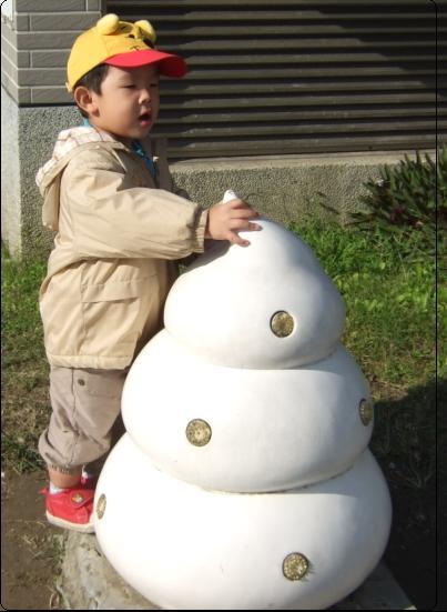 動物園的假大便~安安快三歲