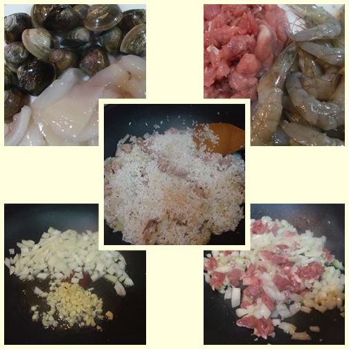 海鮮咖哩燉飯