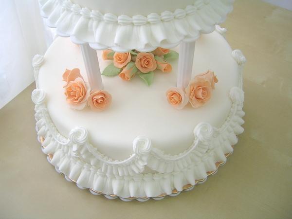 雙層翻糖結婚蛋糕4