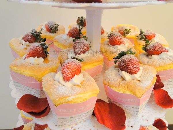 結婚杯子蛋糕塔3