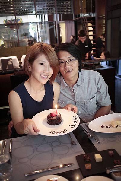 送的生日蛋糕