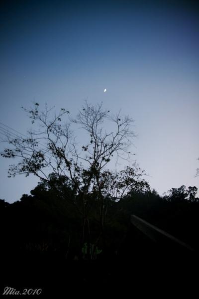 天開始黑了!!