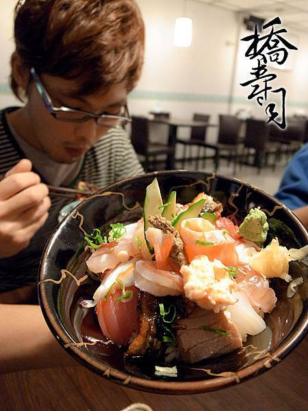 海鮮蓋飯無鮭魚卵版