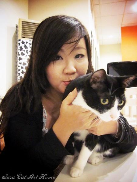 Cindy最喜歡黑白貓了!!