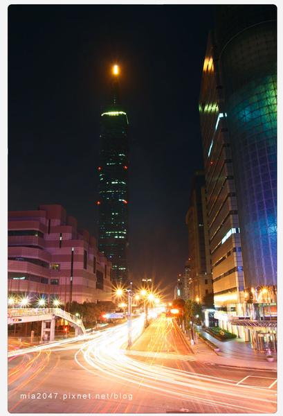 繁華的台北市