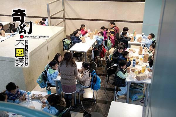 平日很多小朋友來校外教學