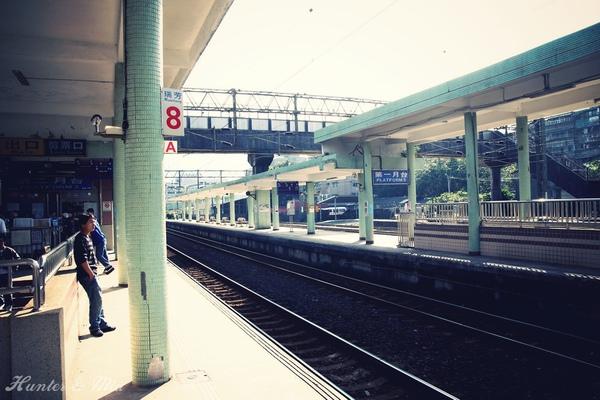 瑞芳火車站到囉~