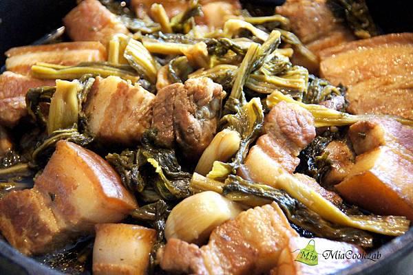 自製梅乾菜滷肉1-2ok80