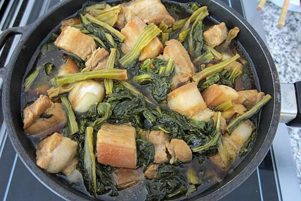 自製梅乾菜滷肉12