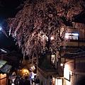 三年坂的櫻花