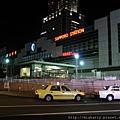 札幌站夜景