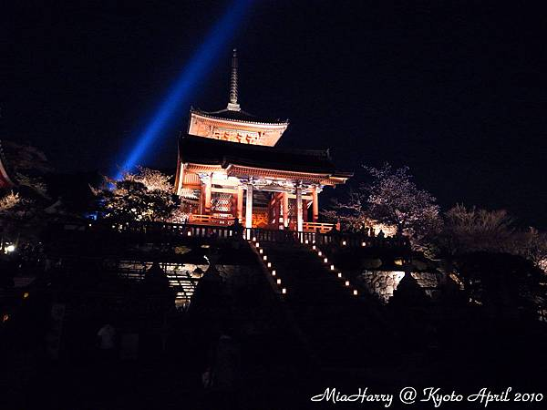 清水寺light up!!