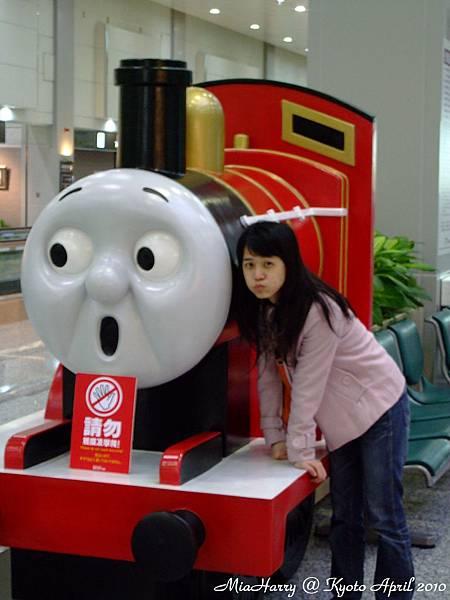 機場內的湯瑪士小火車