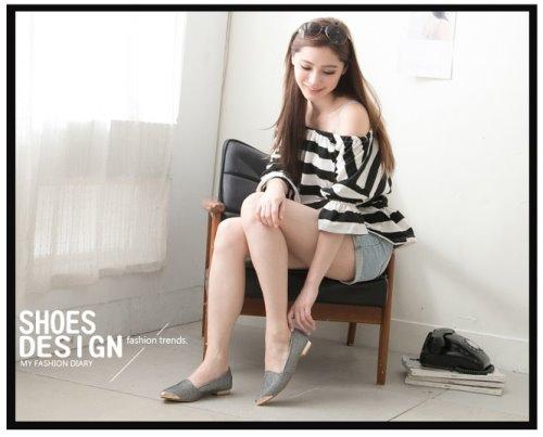 Miaki 低跟包鞋 娃娃鞋 懶人鞋 流行女鞋 韓版