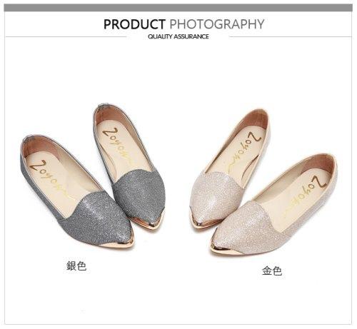 Miaki 平價女鞋 低跟 娃娃鞋 懶人鞋 流行女鞋 韓版