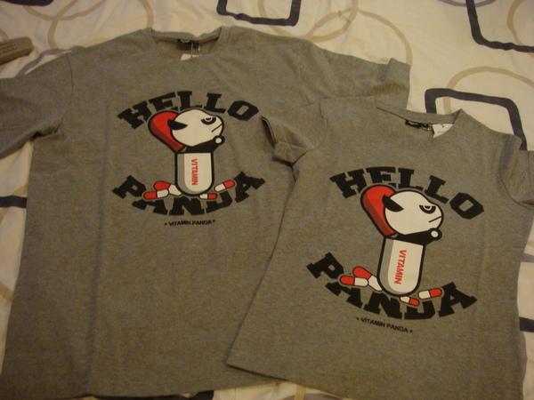 泰康路買來的情侶T,那隻熊貓表情很跩.JPG