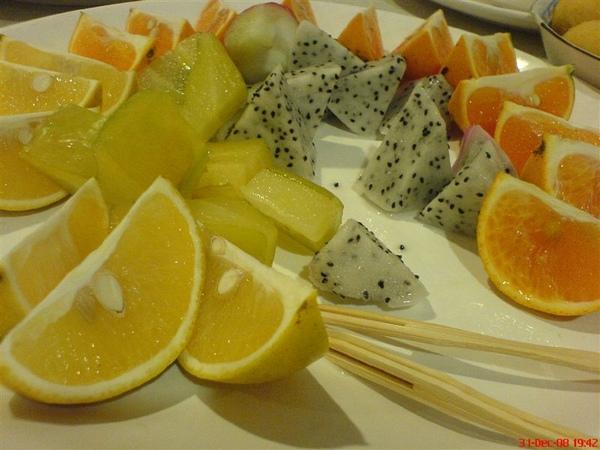 農稼莊水果拼盤