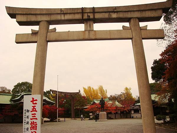 大阪城境內豐國神社