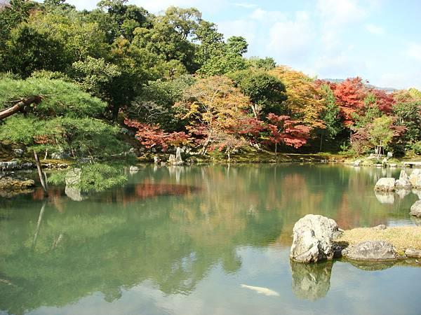 嵐山天龍寺庭院2