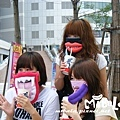 戴著口罩一樣可以吃吃喝喝唷-表情口罩示範照~這個已售囉