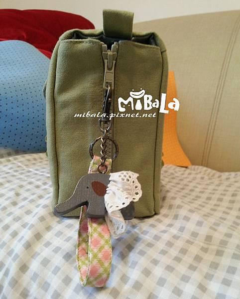 綠方象~旅行包-客戶訂製