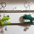 草綠大目鱷+深綠大目鱷