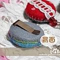 E06D01-伸縮票卡夾-包布點心系-背面扣夾式