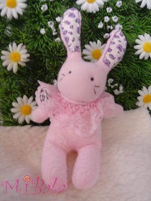 A0007-Pink蕾絲兔 (1)已售