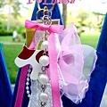 芭蕾牛鑰匙圈-250-已售