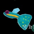 孔雀魚-藍