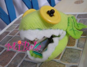 E0005-鱷魚白菜子~訂書機 已售