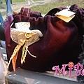 紫色手提包