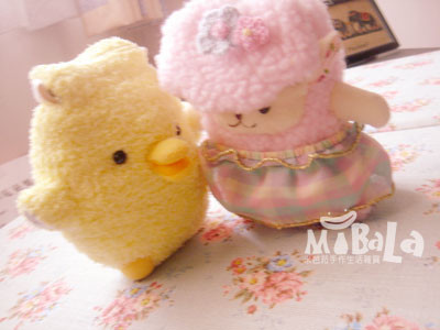 跟你說個秘密~~小黃雞與Lala手機套